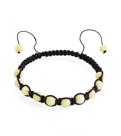 """Bracelet in ethnic style from amber """"Shambala"""""""