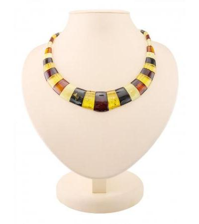 """Necklace from natural Baltic amber """"Egypt"""""""
