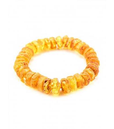 "Bracelet made of natural amber ""Healing brandy washers"""