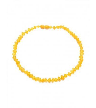 "Children's medical beads made of natural Baltic amber ""Honey Pebbles"" for children"