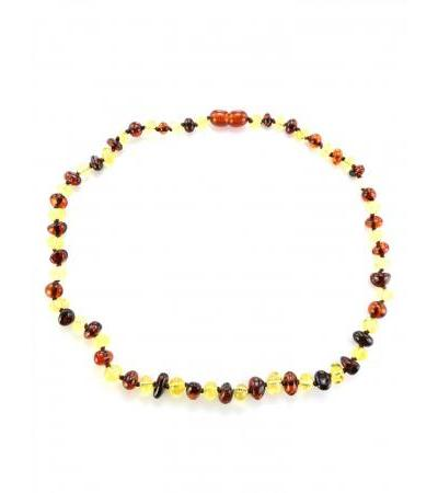 "Elegant glossy beads for children ""Bright contrasting pebbles"" for children"
