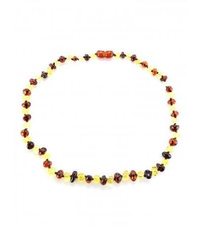 """Elegant glossy beads for children """"Bright contrasting pebbles"""" for children"""