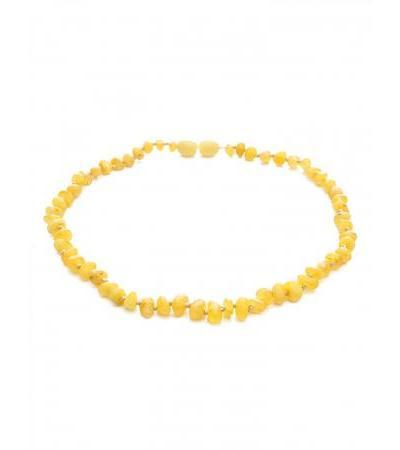 """Amber beads for children """"Honey and milk pebbles"""" for children"""